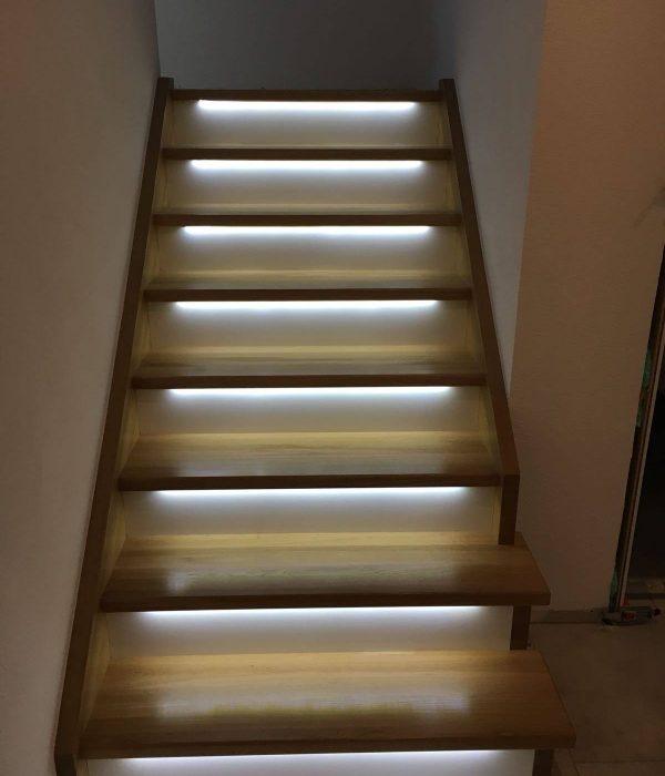 Akzente LED-Treppe