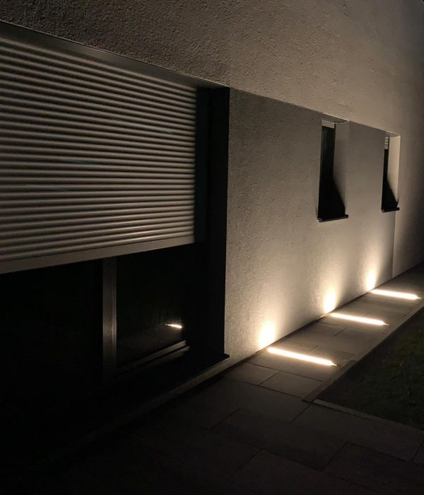 Außenbeleuchtung Wand